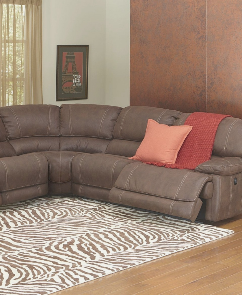 Fabric Sectional Sofa With Power Recliner | Baci Living Room with regard to Declan 3 Piece Power Reclining Sectionals With Right Facing Console Loveseat (Image 15 of 30)