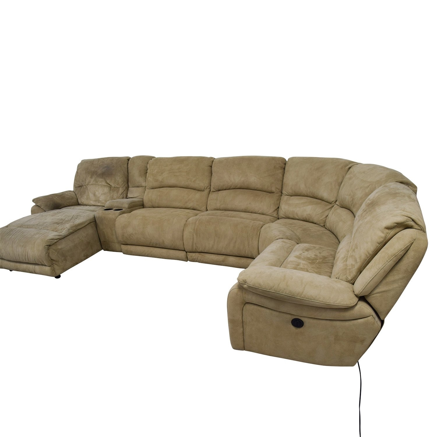 Fabulous 25 Power Reclining Sectional Sofa Favorite regarding Calder Grey 6 Piece Manual Reclining Sectionals (Image 8 of 30)