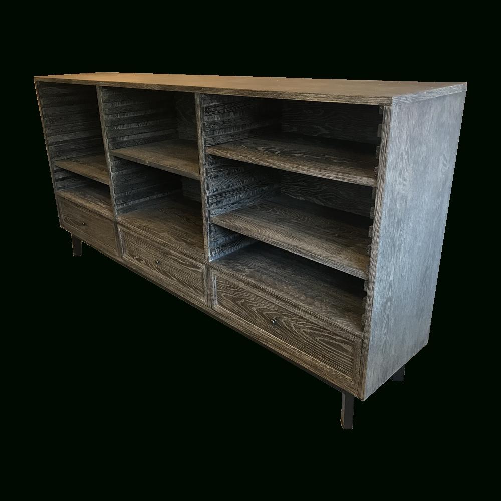 Fancy / ファンシー Sideboard Aalborg Black Burnt Oak | 高級 with regard to Black Burnt Oak Sideboards (Image 9 of 30)