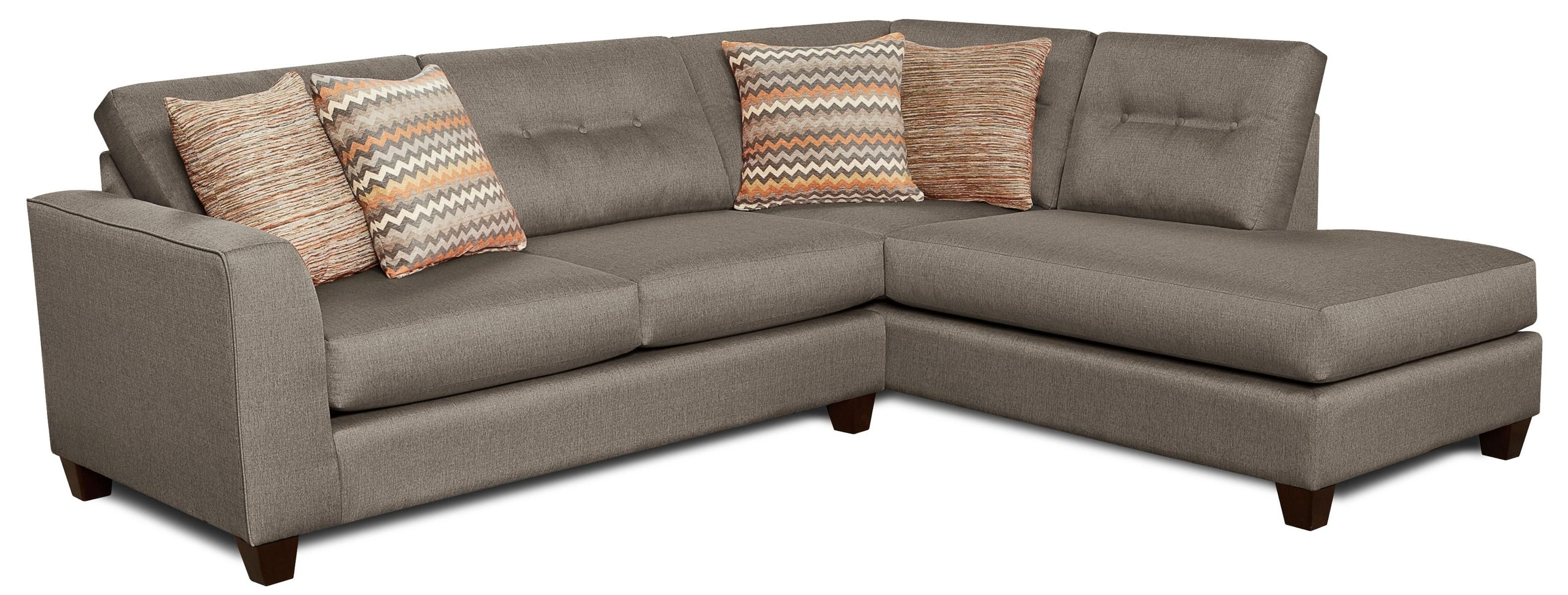 Fandago Flame Sectional Sofafusion Furniture | Dc House throughout London Optical Reversible Sofa Chaise Sectionals (Image 11 of 30)