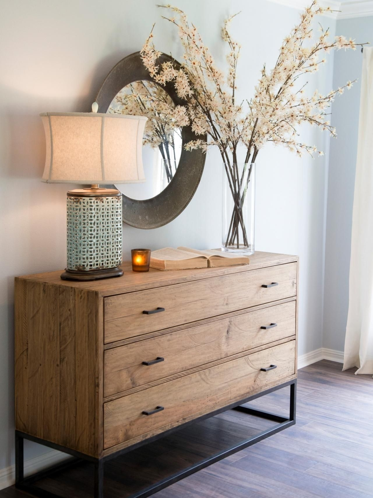 Fixer Upper: A Rush To Renovate An '80S Ranch Home | Fixer Upper pertaining to Geo Capiz Sideboards (Image 20 of 30)