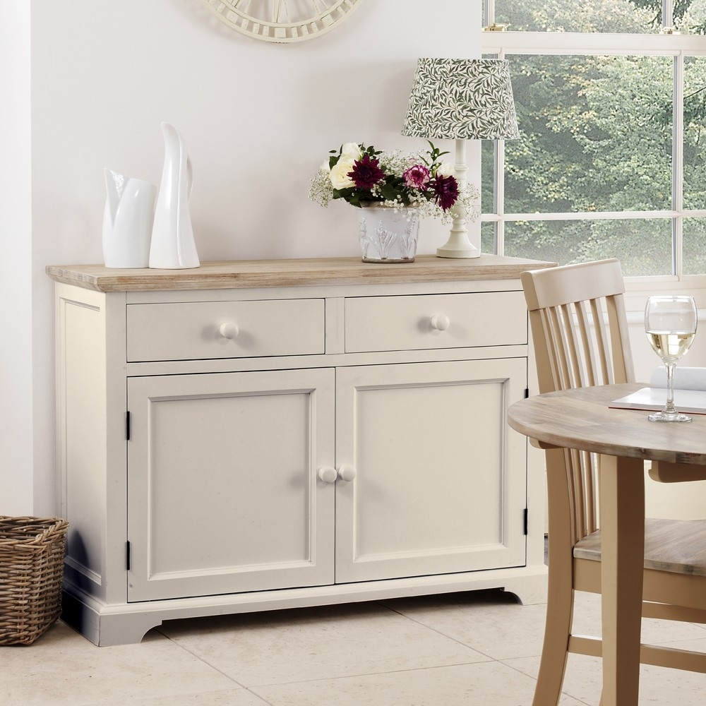 Florence Truffle Sideboard for White Wash 2-Door Sideboards (Image 9 of 30)