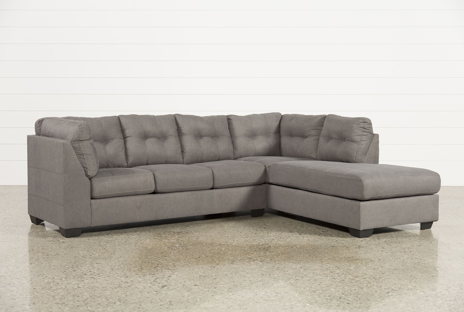 Flossy Chaiseklaussner With Chaise Piece Sectional Sofa And within Egan Ii Cement Sofa Sectionals With Reversible Chaise (Image 11 of 30)