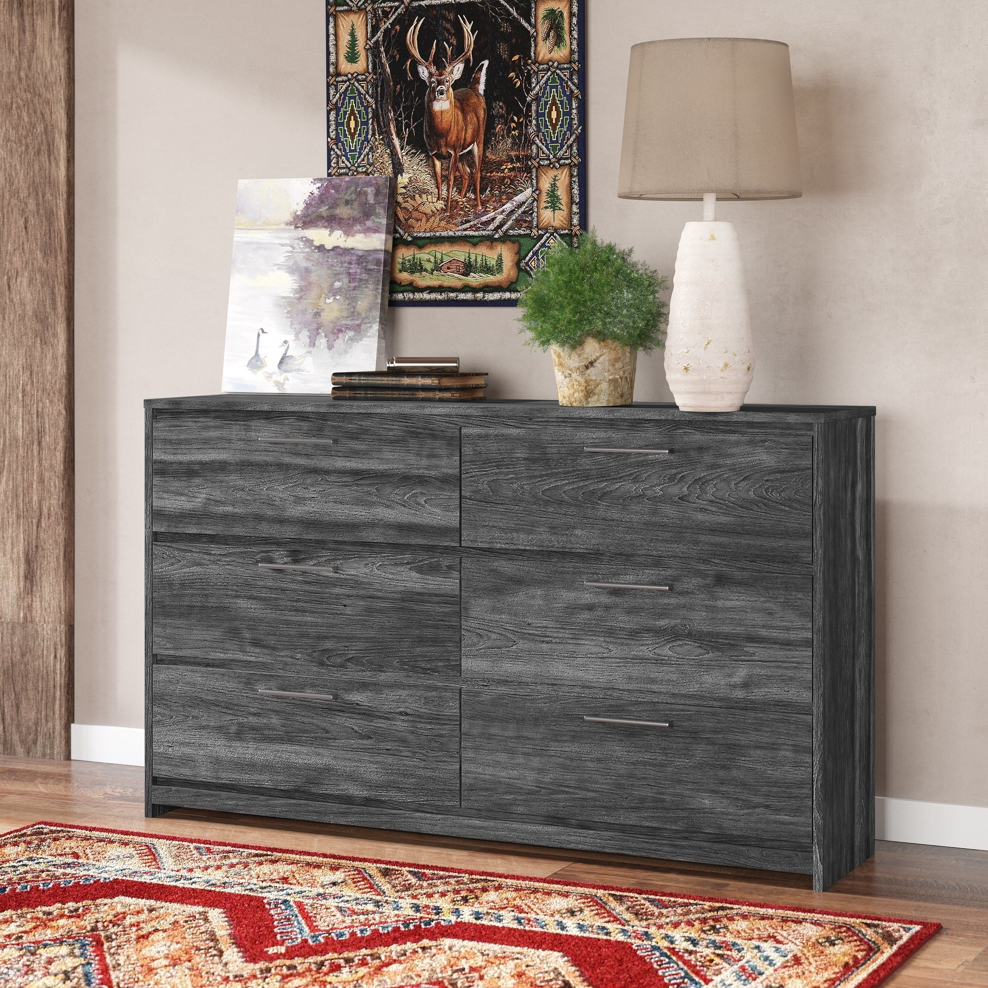 Foundry Select | Wayfair with Bale Rustic Grey Sideboards (Image 12 of 30)