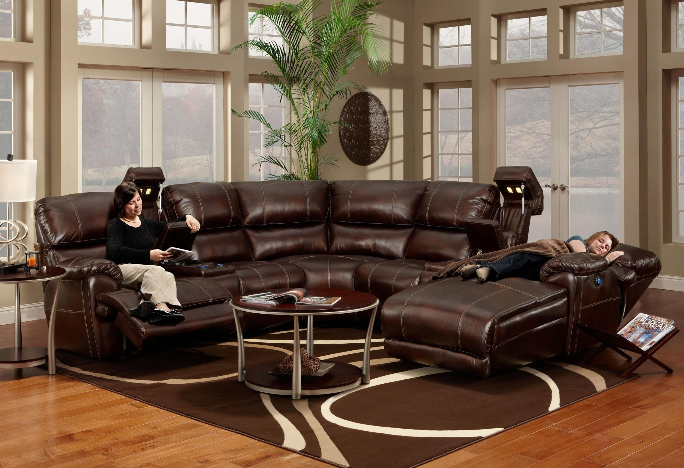 Franklin 572 Reclining Sectional Sofa With Chaise - Ahfa - Sofa with Blaine 4 Piece Sectionals (Image 13 of 30)