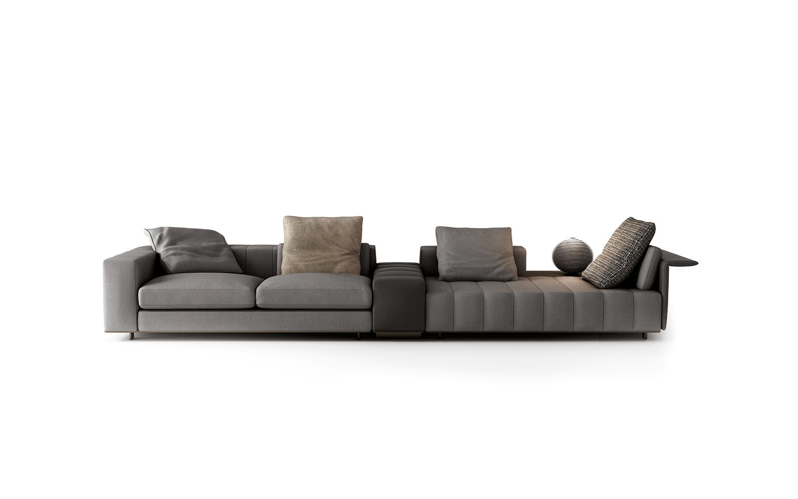 Freeman Seating System | Sofas - En within Calder Grey 6 Piece Manual Reclining Sectionals (Image 12 of 30)