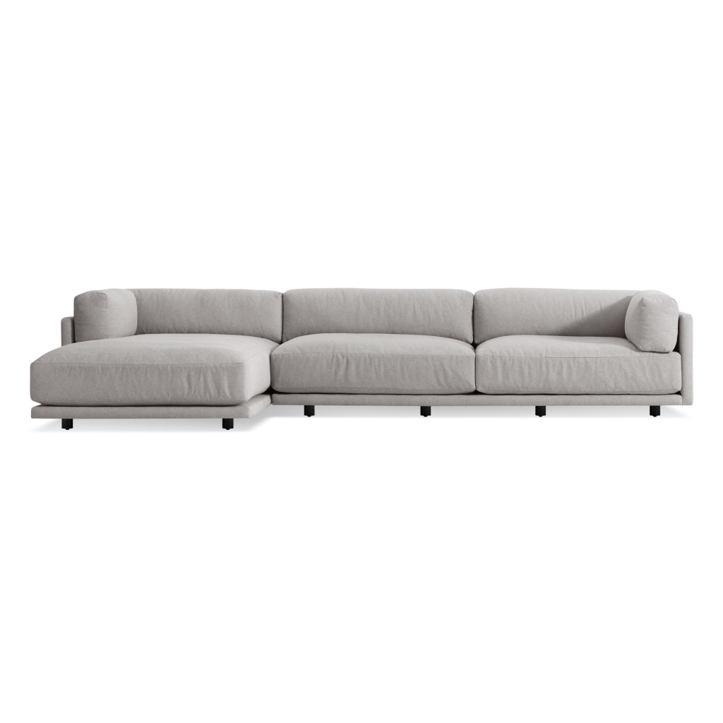 Furniture: Chaise Couch Unique Egan Ii Cement Sofa W Reversible within Egan Ii Cement Sofa Sectionals With Reversible Chaise (Image 12 of 30)