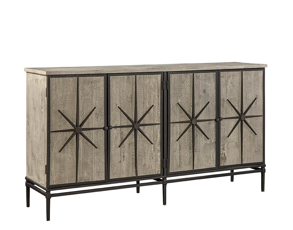 Furniture Classics Mallory Sideboard | Wayfair with regard to Reclaimed Pine & Iron 72 Inch Sideboards (Image 12 of 30)
