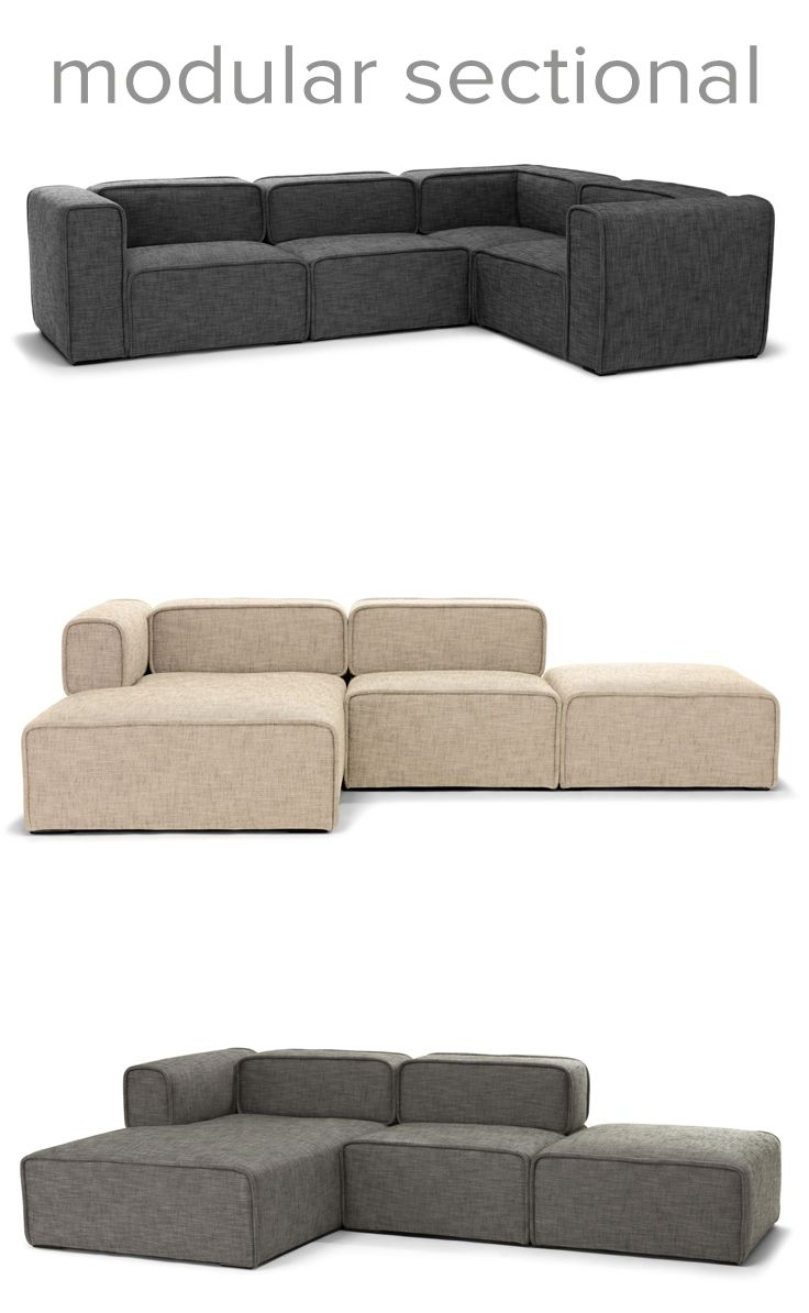 Furniture Liking The New Hay Modular Sectional Available With Regard To Malbry Point 3 Piece Sectionals With Laf Chaise (View 22 of 30)