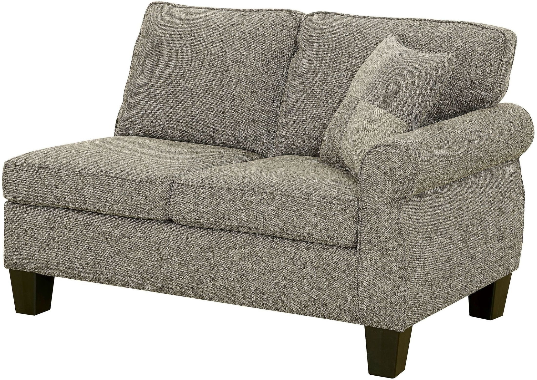 Furnitureetc | Furniture & More Rhian Dark Gray Sectional From for Adeline 3 Piece Sectionals (Image 13 of 30)