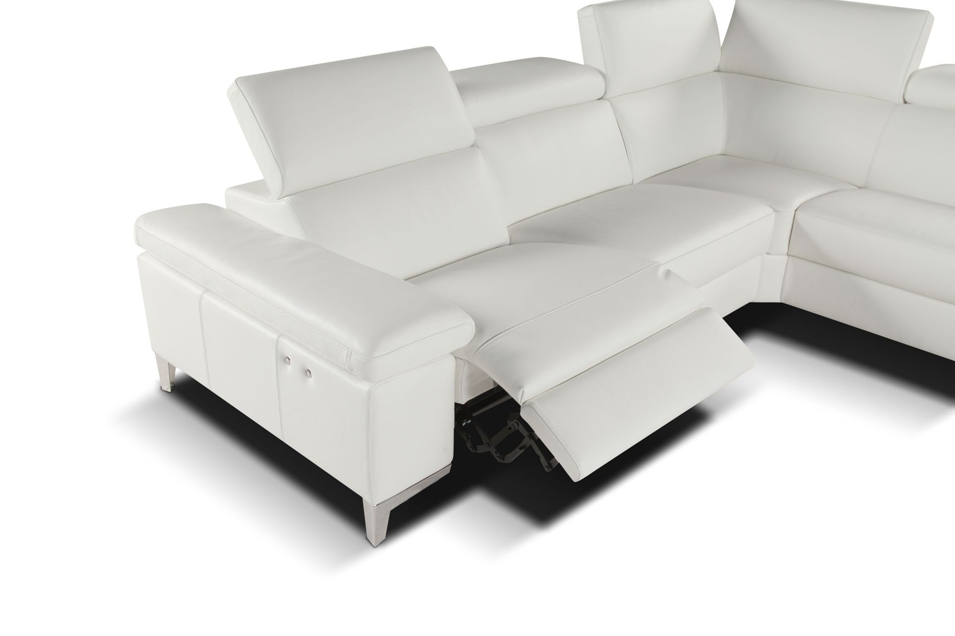 Gallery: Left Facing Chaise Lounge Sectional, - Longfabu intended for Arrowmask 2 Piece Sectionals With Sleeper & Right Facing Chaise (Image 9 of 30)