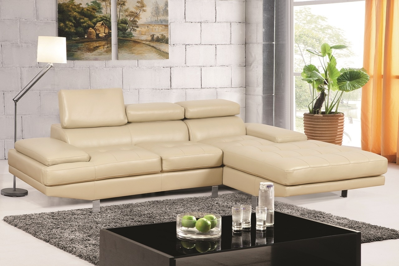 Generation Trade 599137 Madison Collection Sectional Sofa In Ivory Intended For Sierra Down 3 Piece Sectionals With Laf Chaise (View 15 of 30)