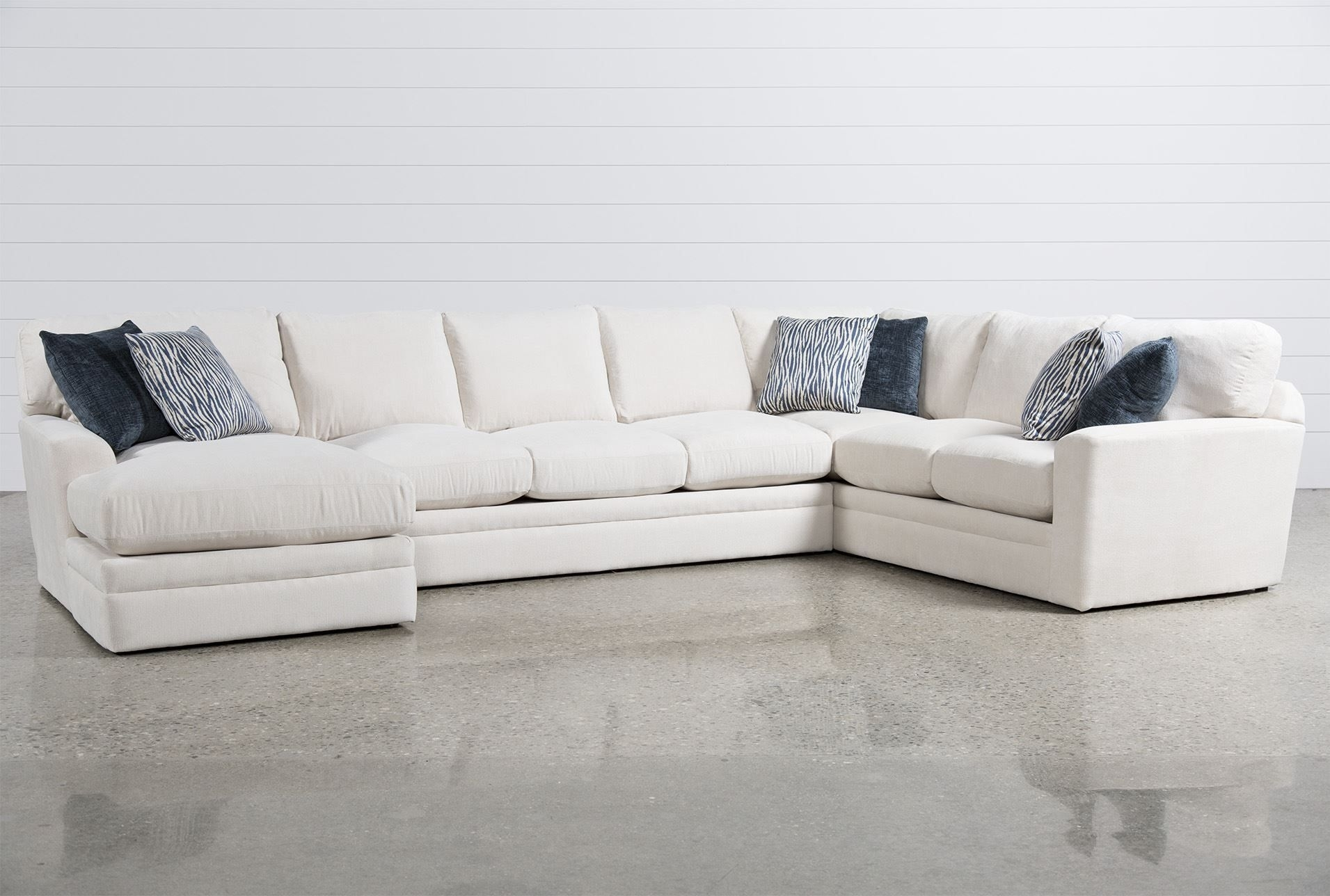 Glamour Ii 3 Piece Sectional | Furniture Options For Roland Beach with Evan 2 Piece Sectionals With Raf Chaise (Image 22 of 30)