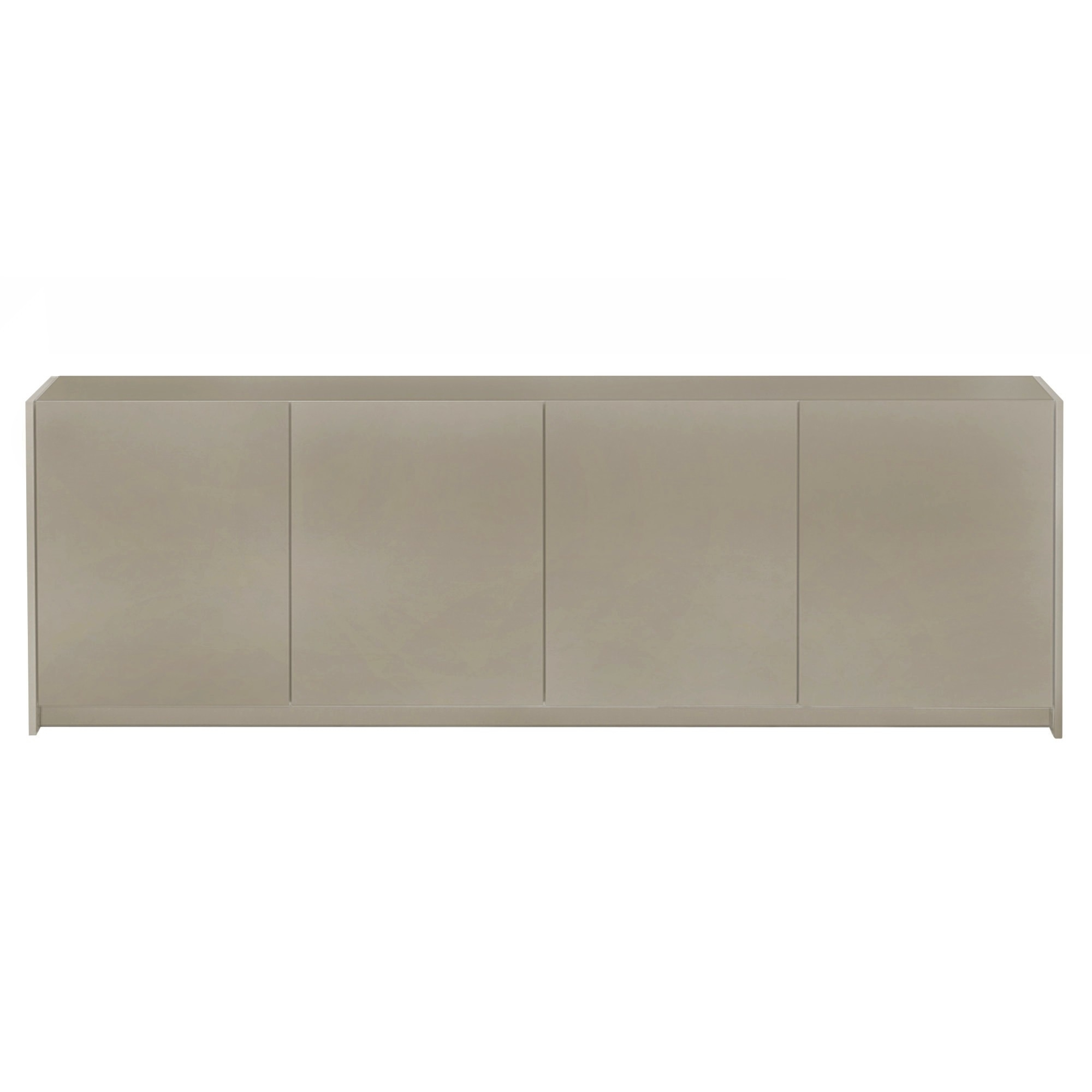 Gloria 4 Door Sideboard | Forniture | Living Room | Connubia in Metal Refinement 4 Door Sideboards (Image 15 of 30)