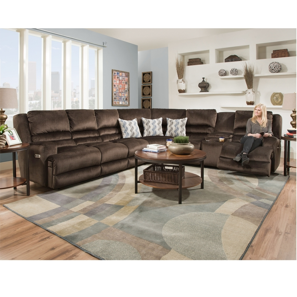 Grand Slam Sectional - Brown's Furniture Showplace for Lucy Dark Grey 2 Piece Sleeper Sectionals With Laf Chaise (Image 10 of 30)