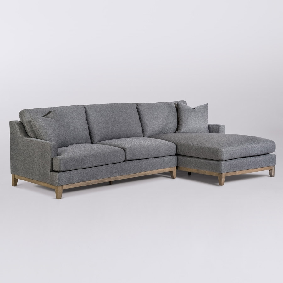 Grant Sectional – Right Facing Chaise (Raf) – Alder & Tweed Furniture pertaining to Alder 4 Piece Sectionals (Image 15 of 30)