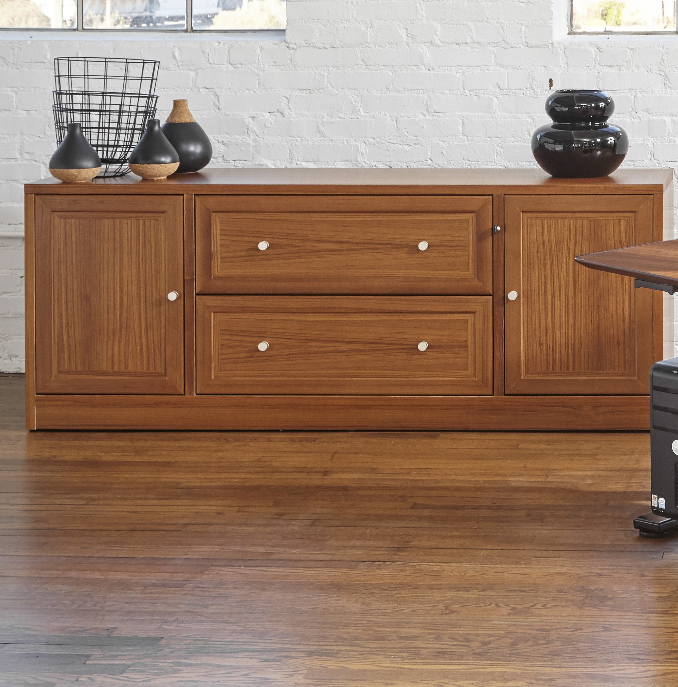 Haaken Furniture Vip Collection Sideboard & Reviews | Wayfair for Lockwood Sideboards (Image 11 of 30)