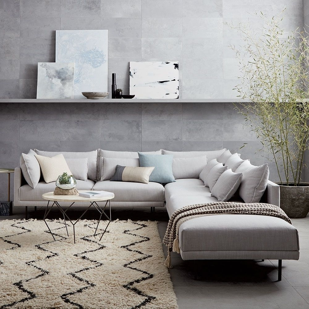 Halsey 4-Piece Sectional | West Elm Uk | For The Home. | Pinterest regarding Aidan 4 Piece Sectionals (Image 13 of 30)