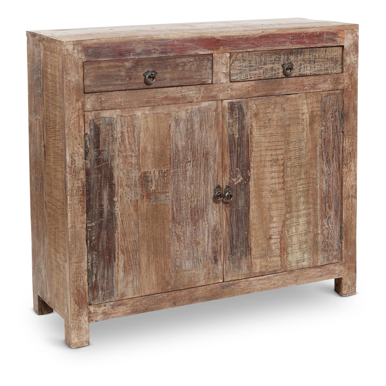 Hampton Sideboard | Hom Furniture regarding 2-Door White Wash Sideboards (Image 13 of 30)