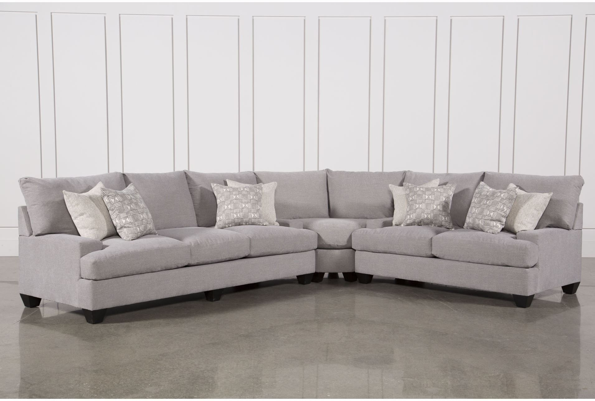 Harper Down 3 Piece Sectional | Family Room [Rekhi] | Pinterest regarding Adeline 3 Piece Sectionals (Image 14 of 30)