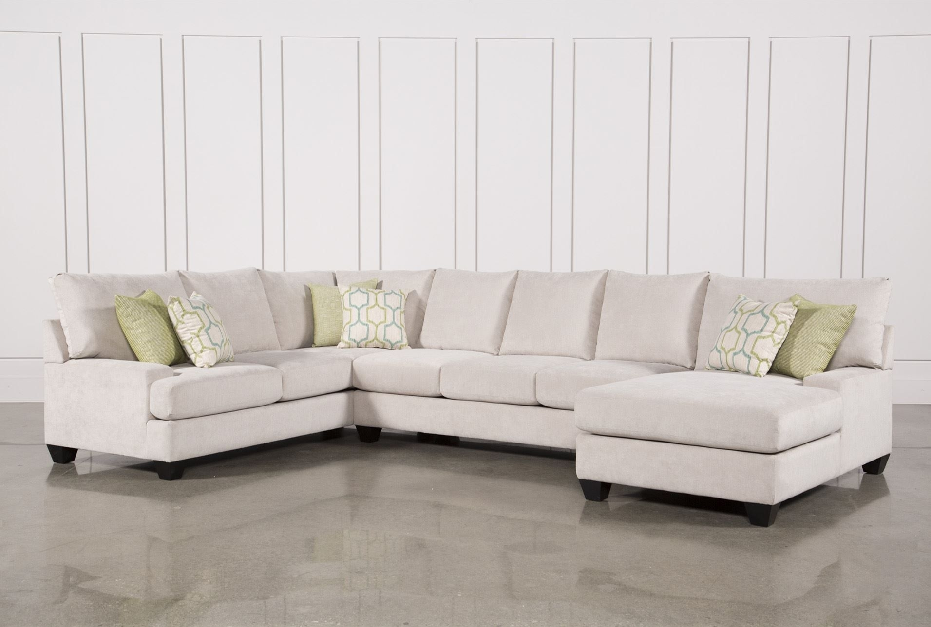Harper Foam 3 Piece Sectional W/raf Chaise | Family Room | Pinterest regarding Cohen Down 2 Piece Sectionals (Image 11 of 30)