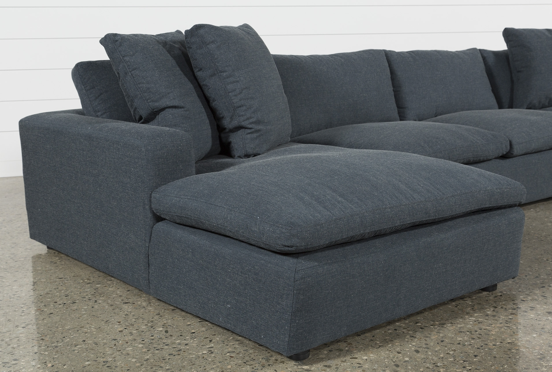 Haven Blue Steel 3 Piece Sectional | Products | Pinterest | Steel with regard to Haven Blue Steel 3 Piece Sectionals (Image 14 of 30)