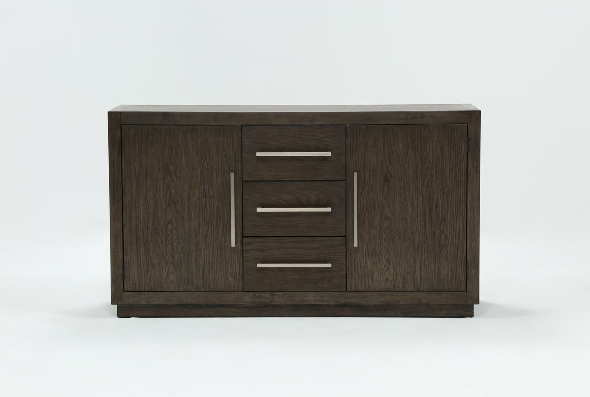 Helms Sideboard | Living Spaces with Jigsaw Refinement Sideboards (Image 6 of 30)
