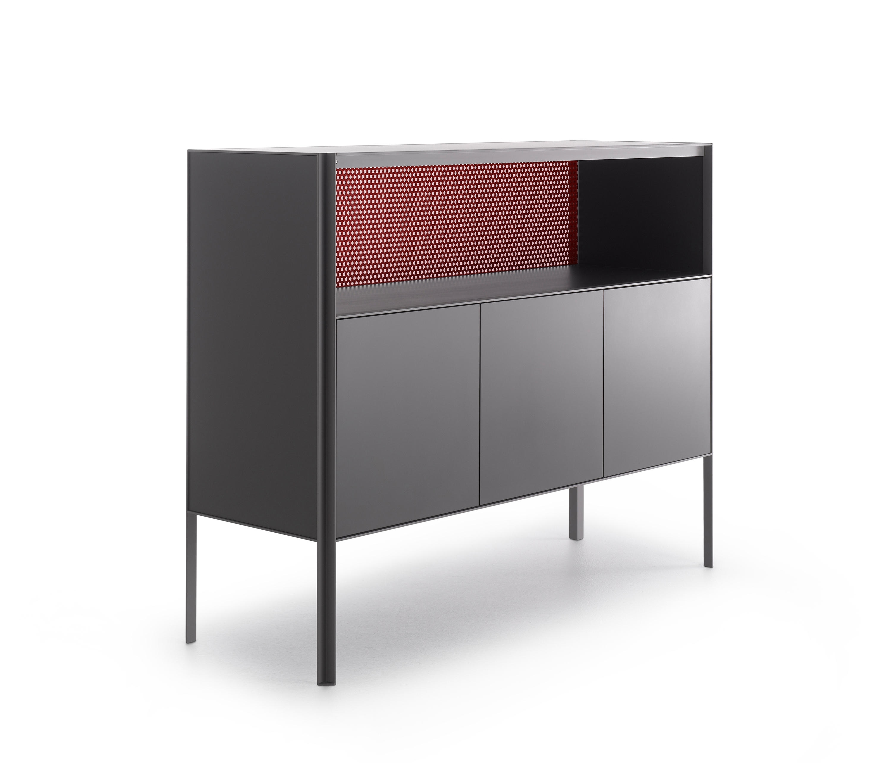 Heron - Sideboards From Mdf Italia | Architonic intended for 4-Door/4-Drawer Metal Inserts Sideboards (Image 15 of 30)