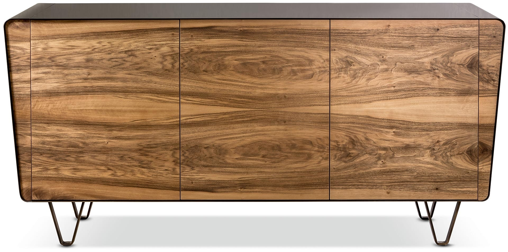 Icaro Sideboard - Cantori with 4 Door Wood Squares Sideboards (Image 18 of 30)