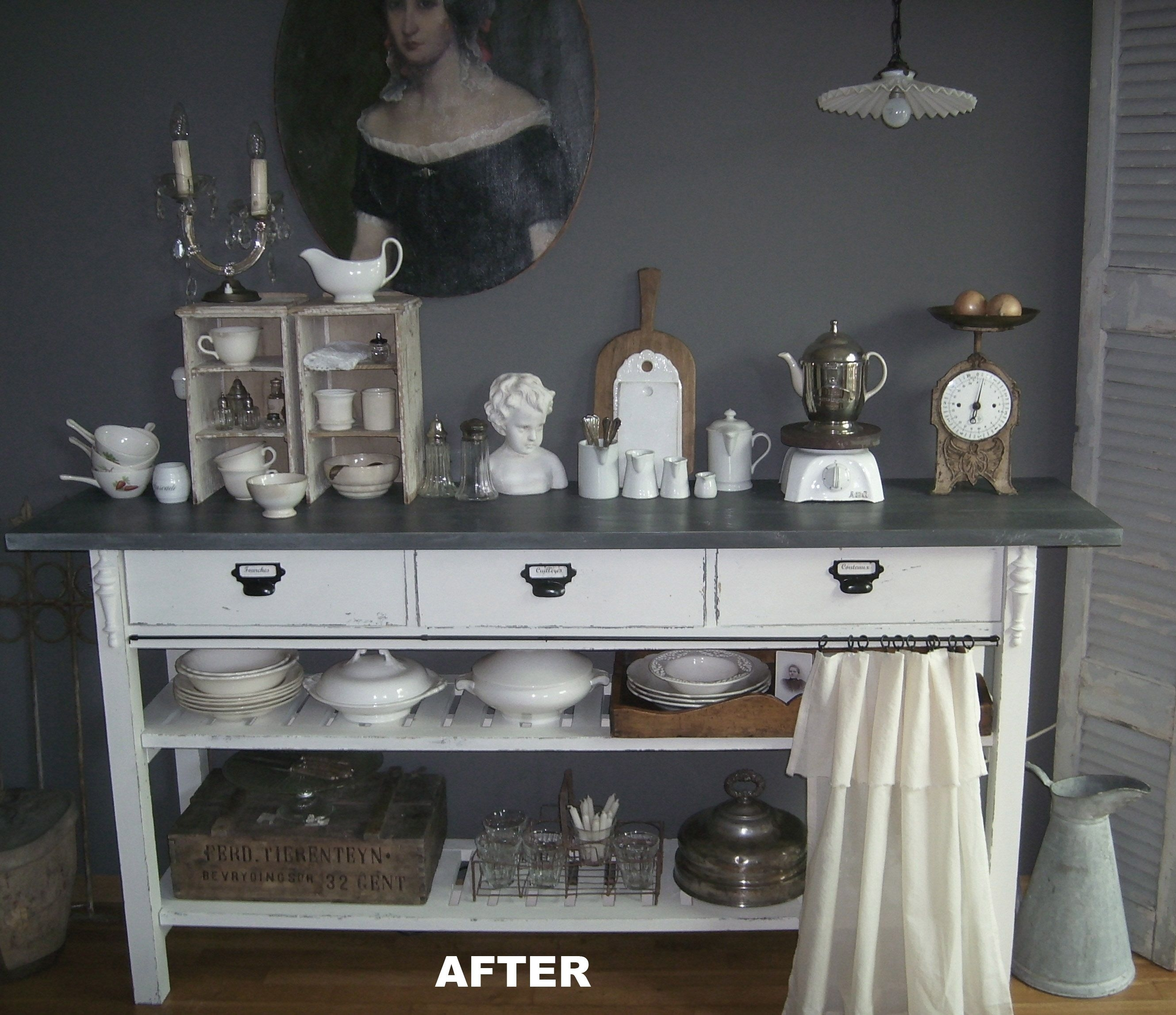 Ikea Norden Sidetable After Restyling | Ikea Hacks And Decorating regarding Leven Wine Sideboards (Image 14 of 30)