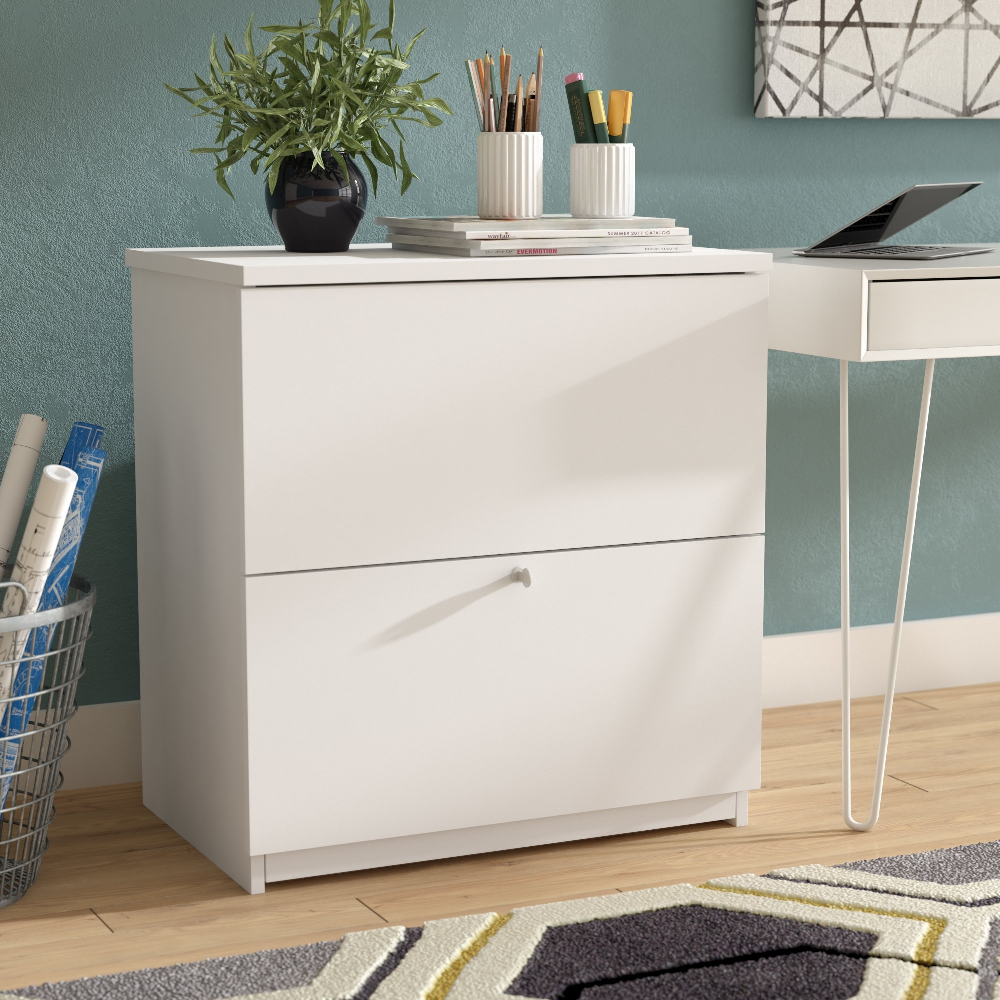 Independence 2-Drawer Lateral Filing Cabinet & Reviews | Allmodern with regard to Jaxon Sideboards (Image 6 of 30)