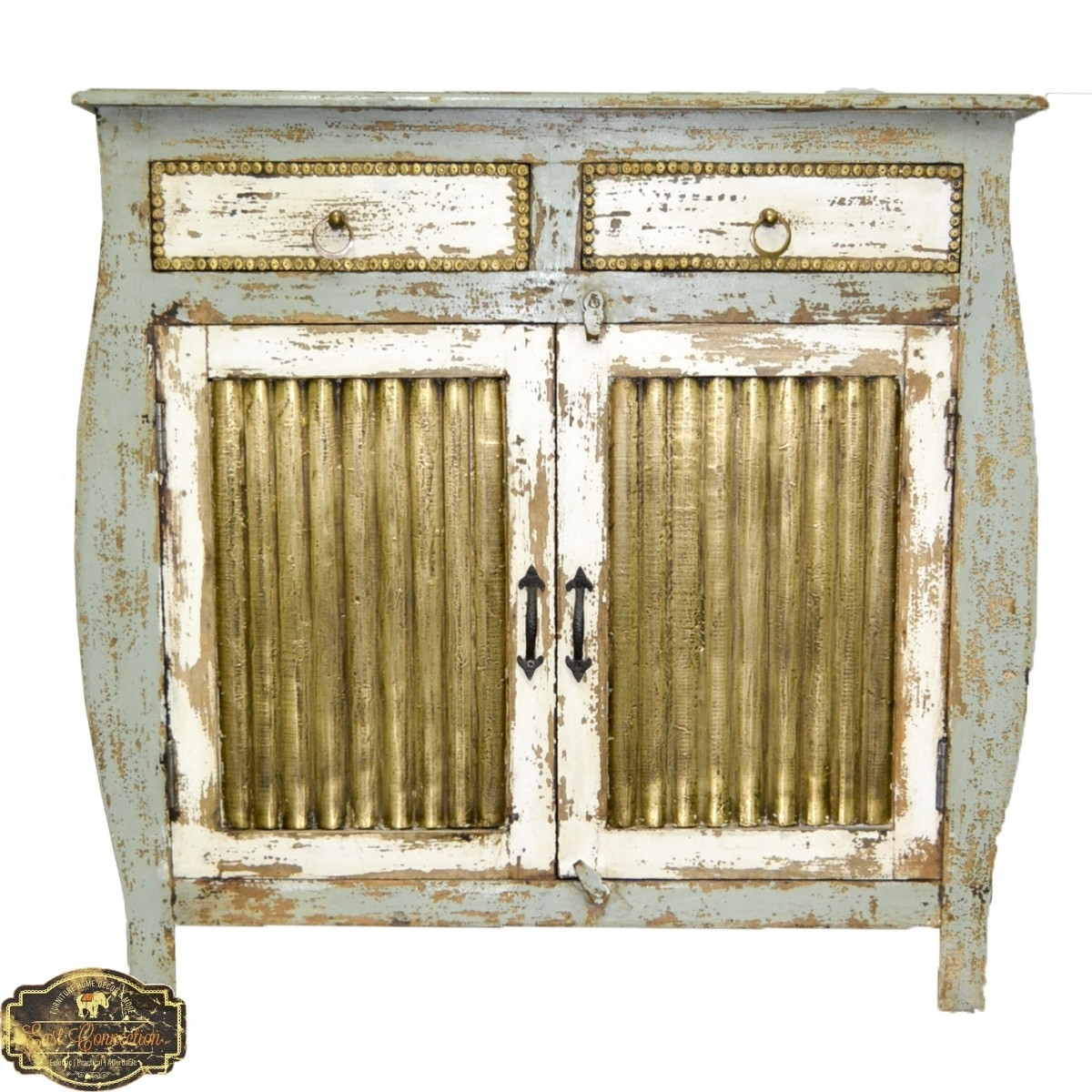 Indian Furniture, Bohemian Furniture & Distressed Furniture | East with regard to Corrugated Metal Sideboards (Image 10 of 30)