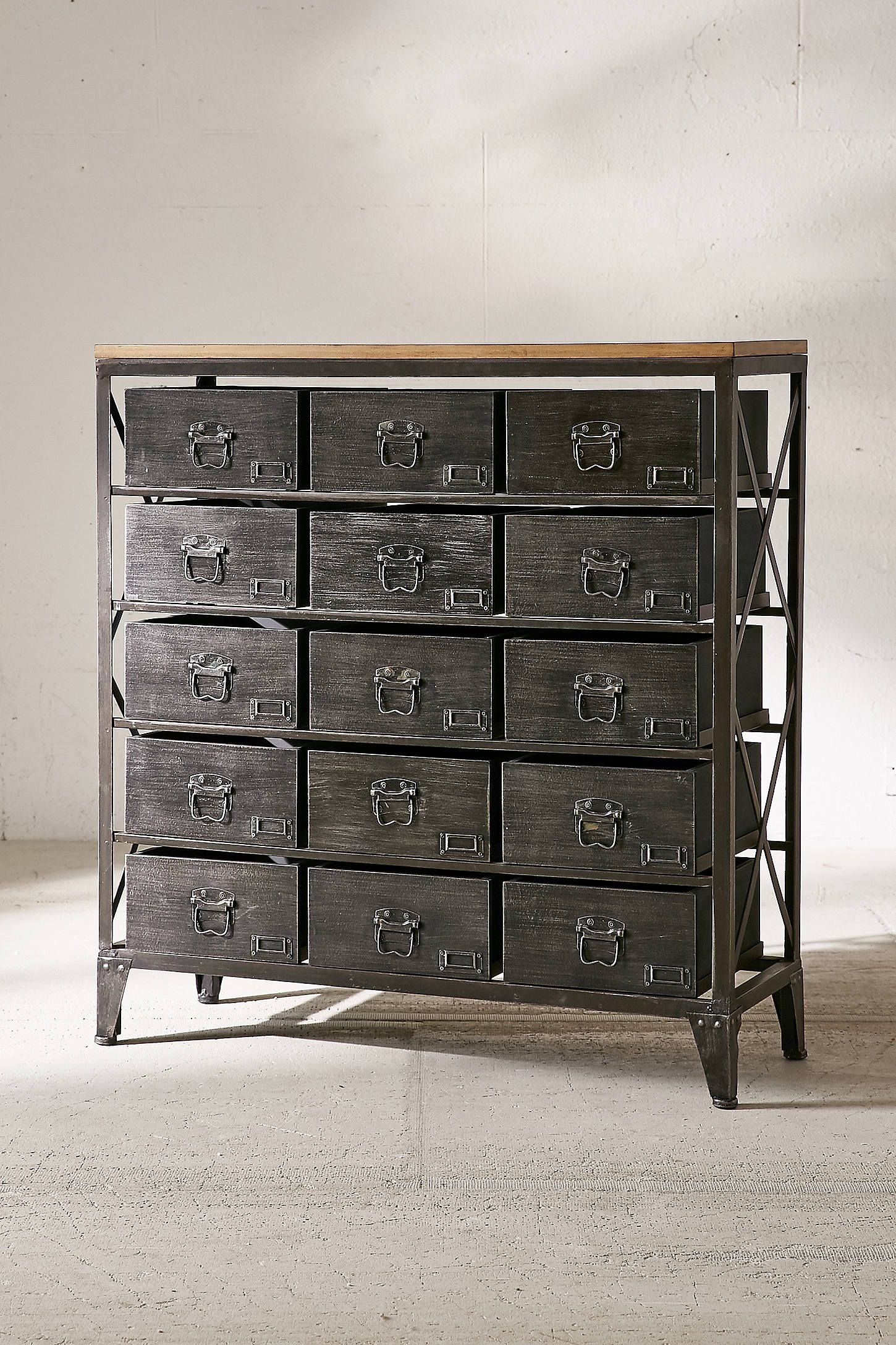 Industrial Storage Dresser | Home: Decor | Pinterest | Industrial for Magnolia Home Dylan Sideboards By Joanna Gaines (Image 23 of 30)