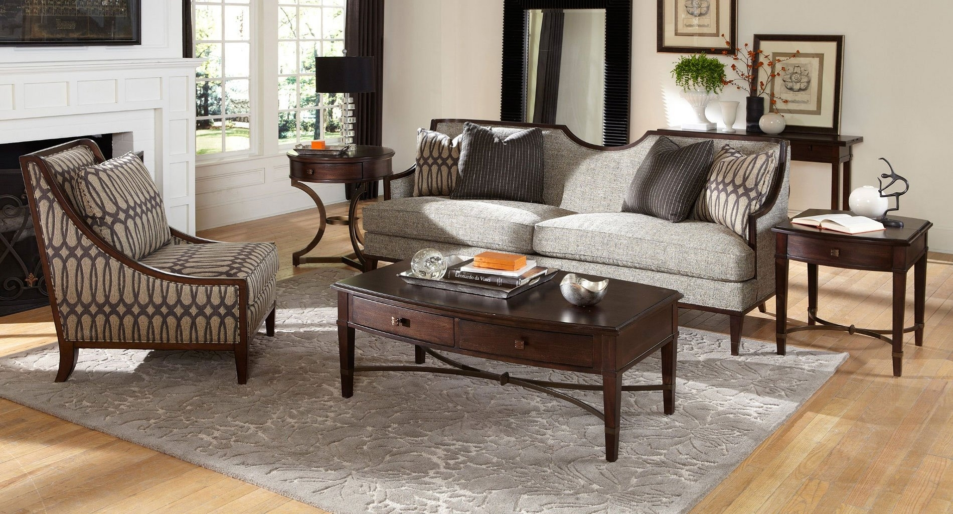 Intrigue Harper Mineral Living Room Set Art Furniture | Furniture Cart intended for Harper Down 3 Piece Sectionals (Image 14 of 30)