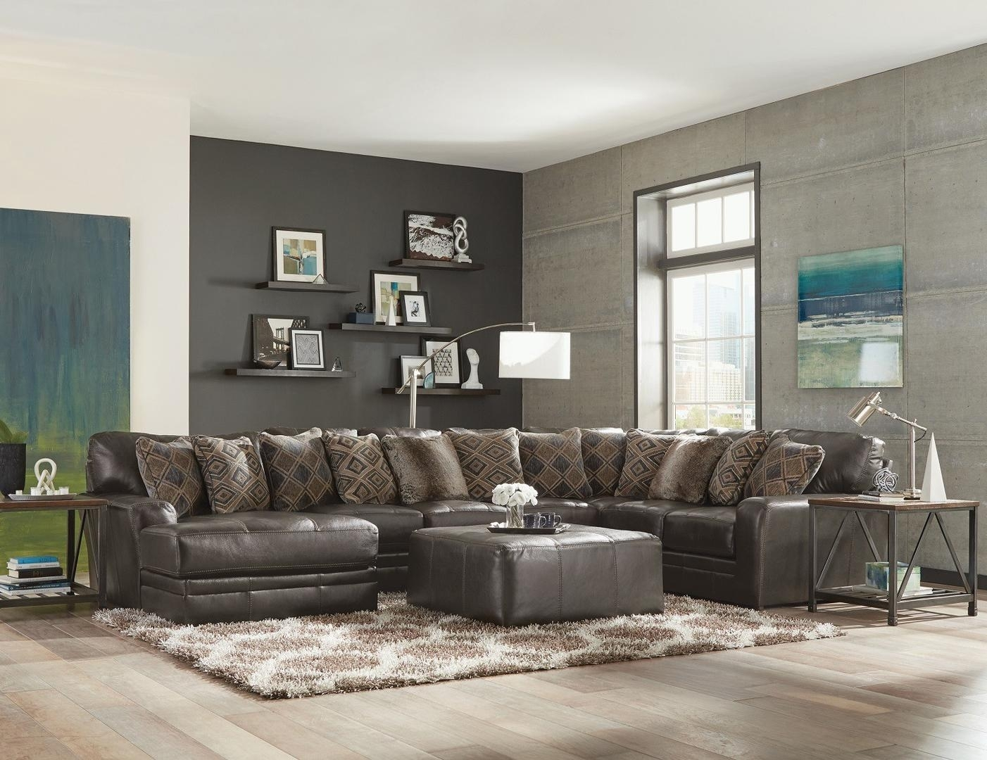 Jackson Furniture 4378753072128328308328 Denali Series Stationary in Jackson 6 Piece Power Reclining Sectionals (Image 14 of 30)