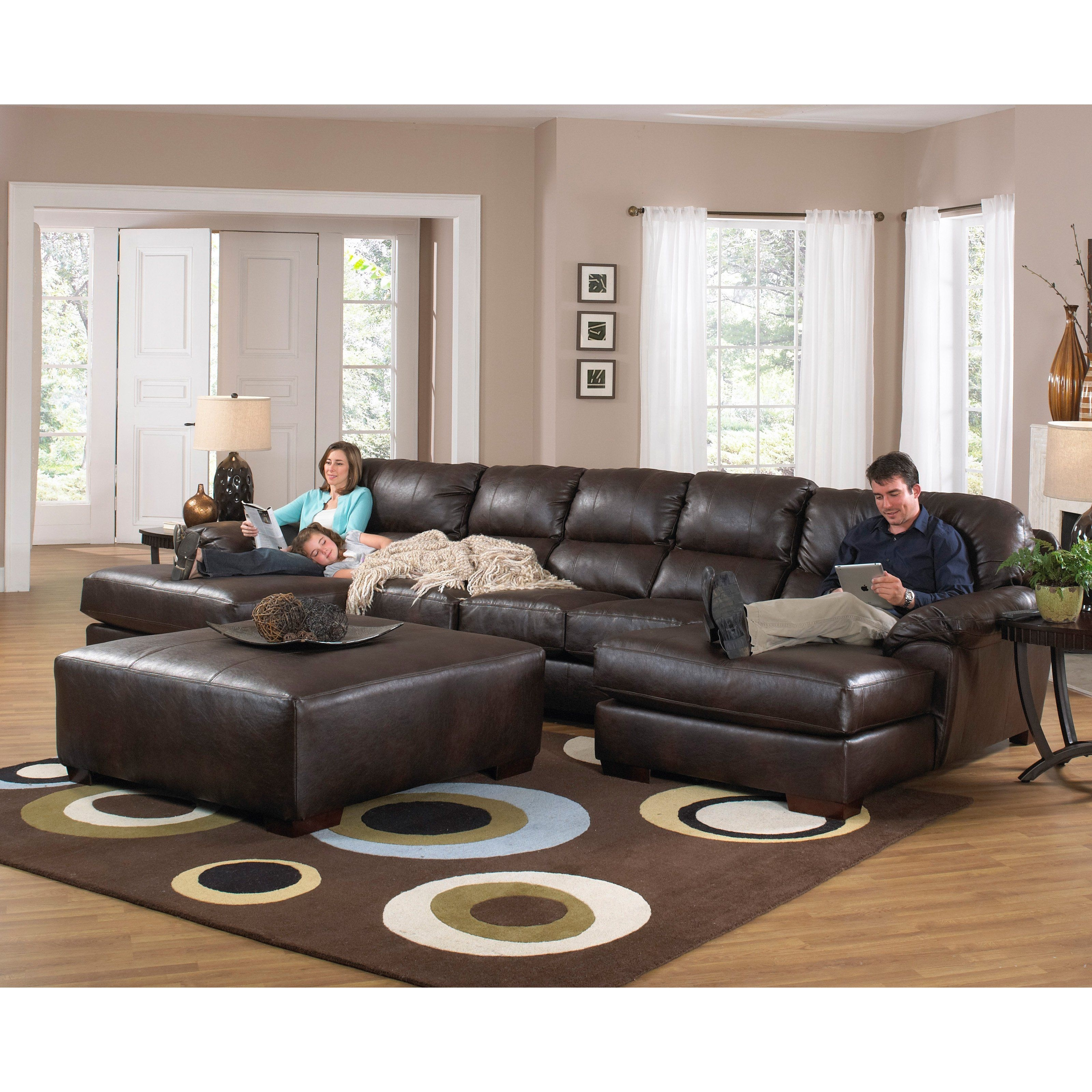 Jackson Furniture Lawson Sectional - Jac494 | Products | Pinterest intended for Jackson 6 Piece Power Reclining Sectionals With  Sleeper (Image 10 of 30)