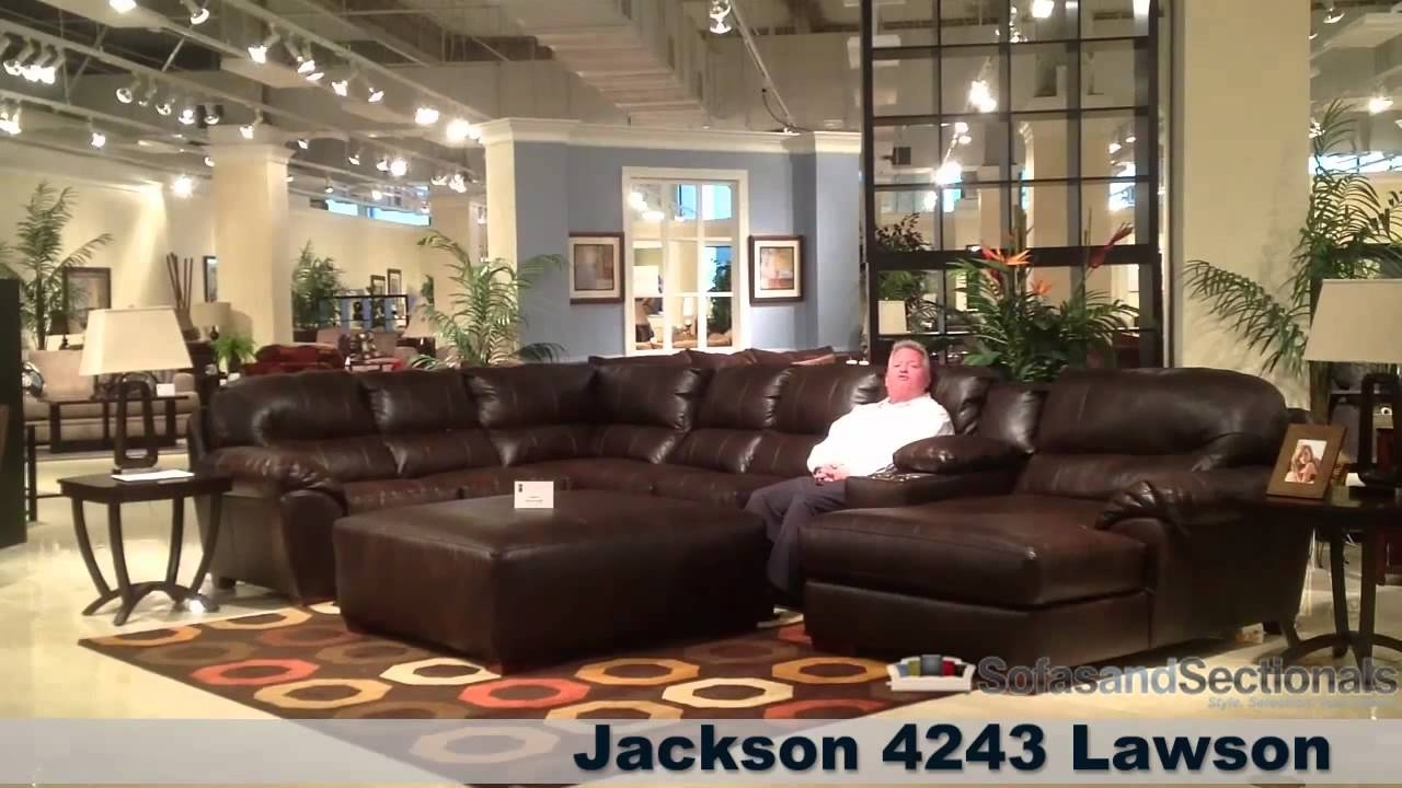 Jackson Lawson Sectional Sofa - Youtube with regard to Jackson 6 Piece Power Reclining Sectionals (Image 20 of 30)