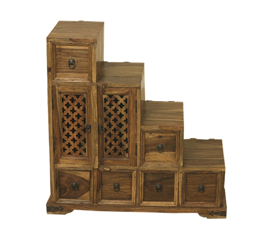 Jali - Quality Indian And Oak Furniture with 2-Door/2-Drawer Cast Jali Sideboards (Image 14 of 30)