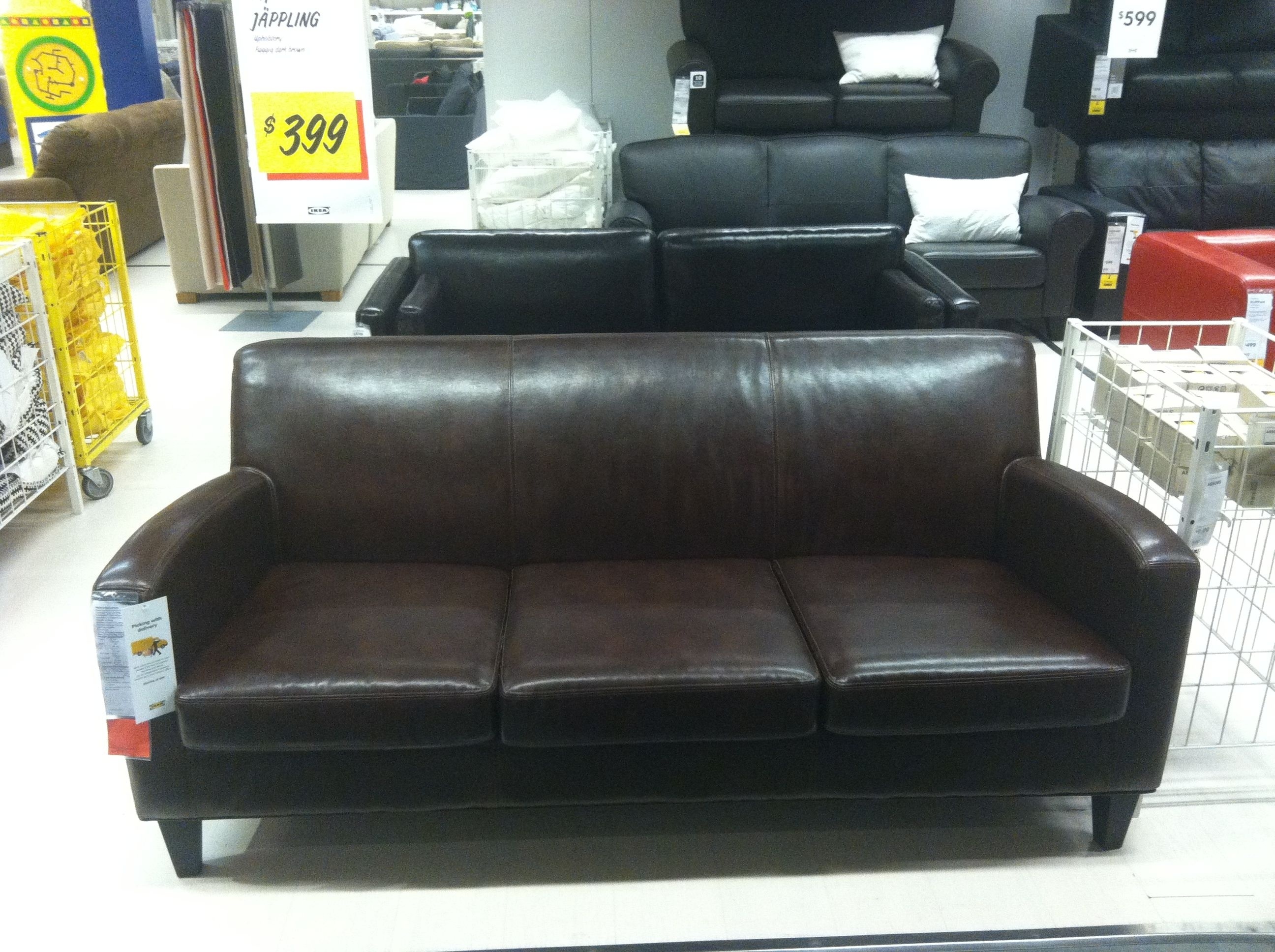 Jappling Sofa Ikea $399 | Basement | Pinterest | Ikea Sofa, Ikea And pertaining to Taron 3 Piece Power Reclining Sectionals With Left Facing Console Loveseat (Image 10 of 30)