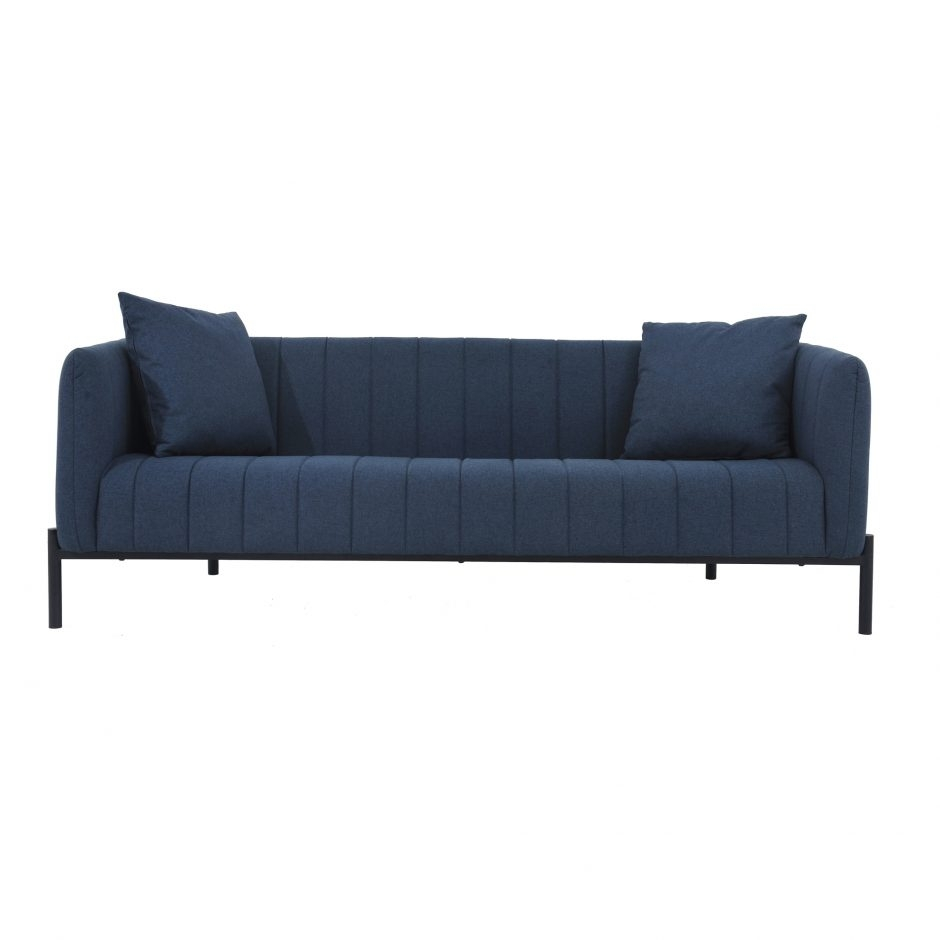 Jaxon Dark Blue Sofa | Products | Moe's Usa with regard to Jaxon Grey Sideboards (Image 11 of 30)