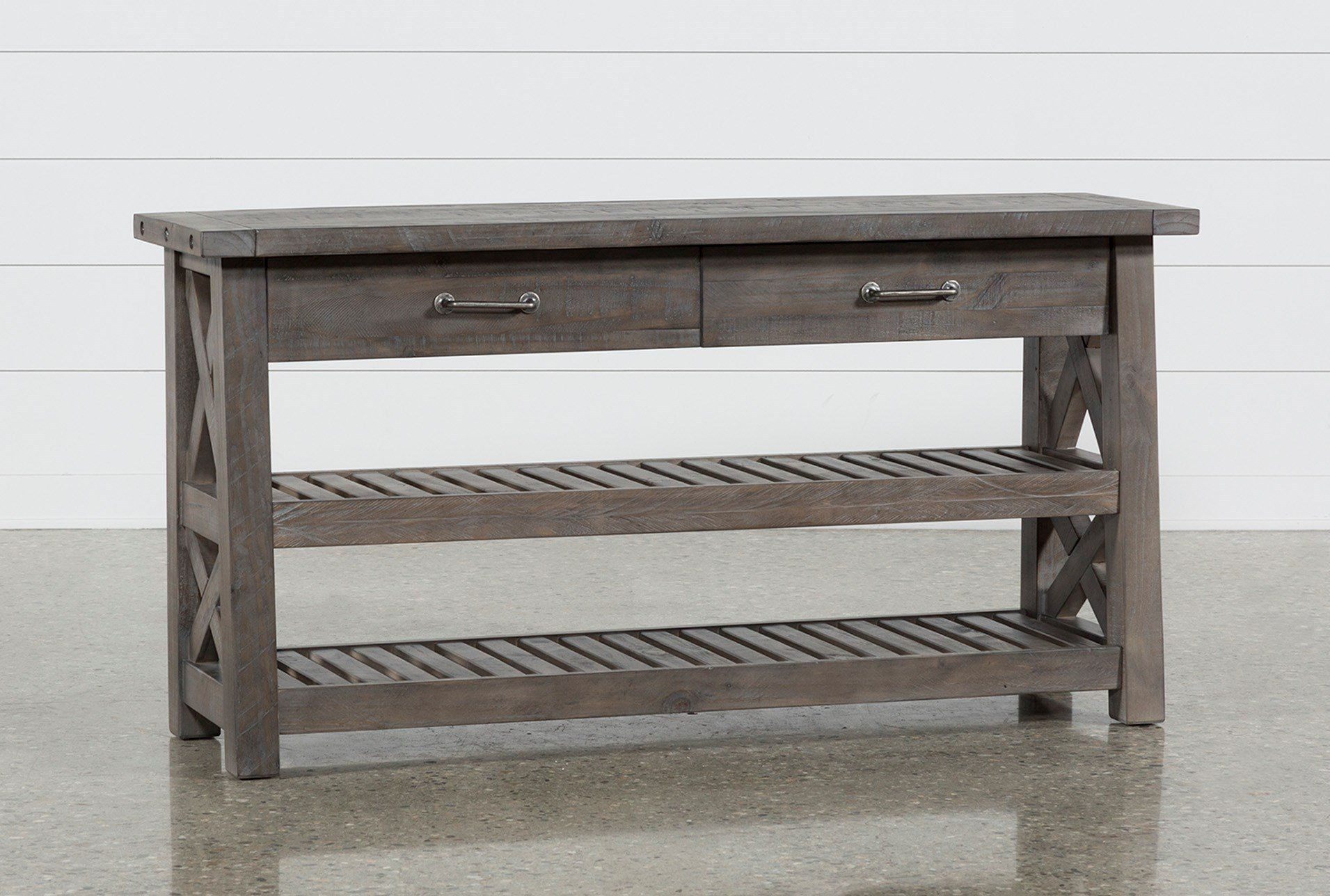 Jaxon Grey Sofa Table | House Shiz | Pinterest | Sofa Tables, Rustic with regard to Jaxon Grey Sideboards (Image 14 of 30)