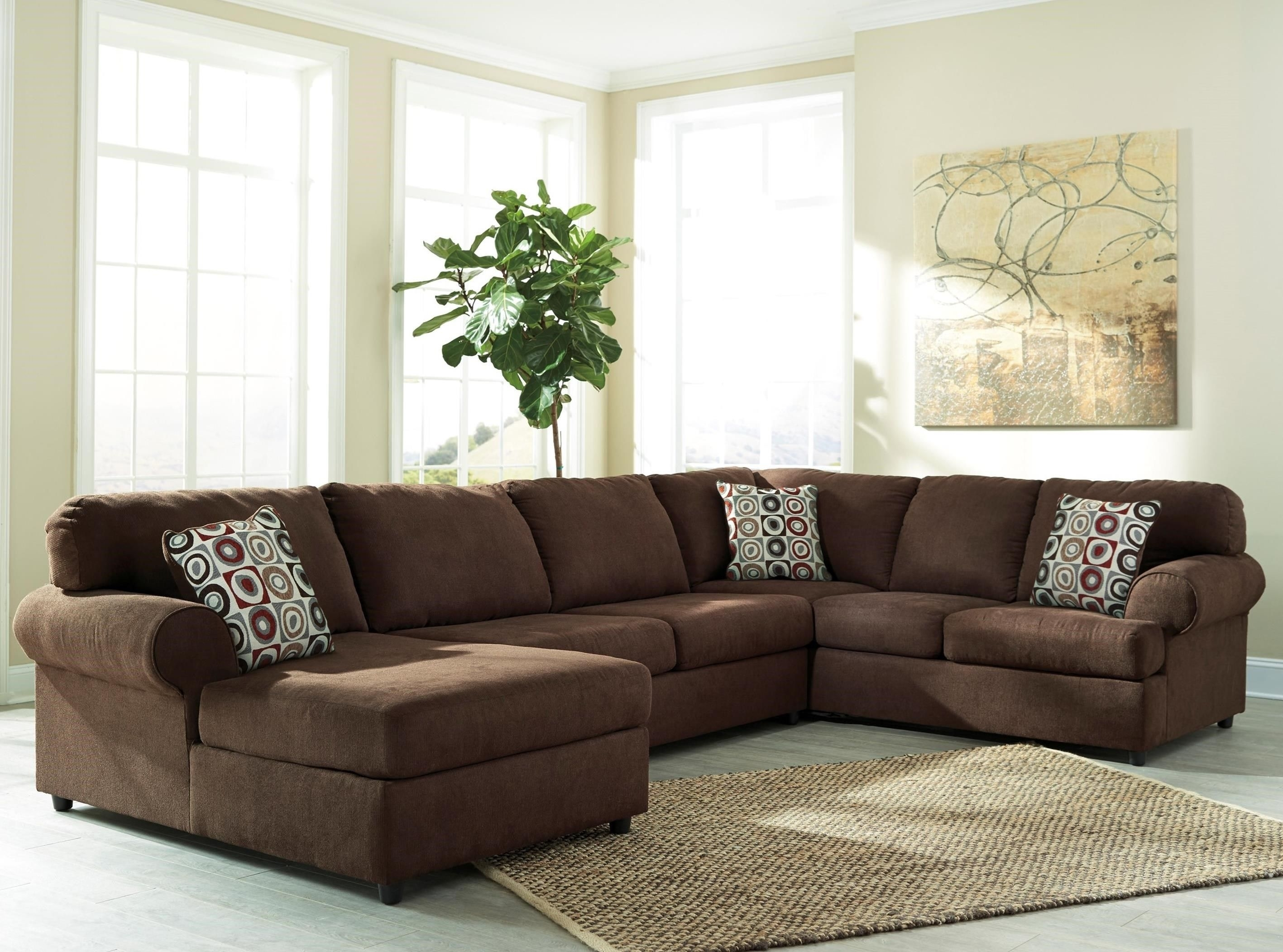 Jayceon 3-Piece Sectional With Chaisesignature Designashley for Benton 4 Piece Sectionals (Image 14 of 30)