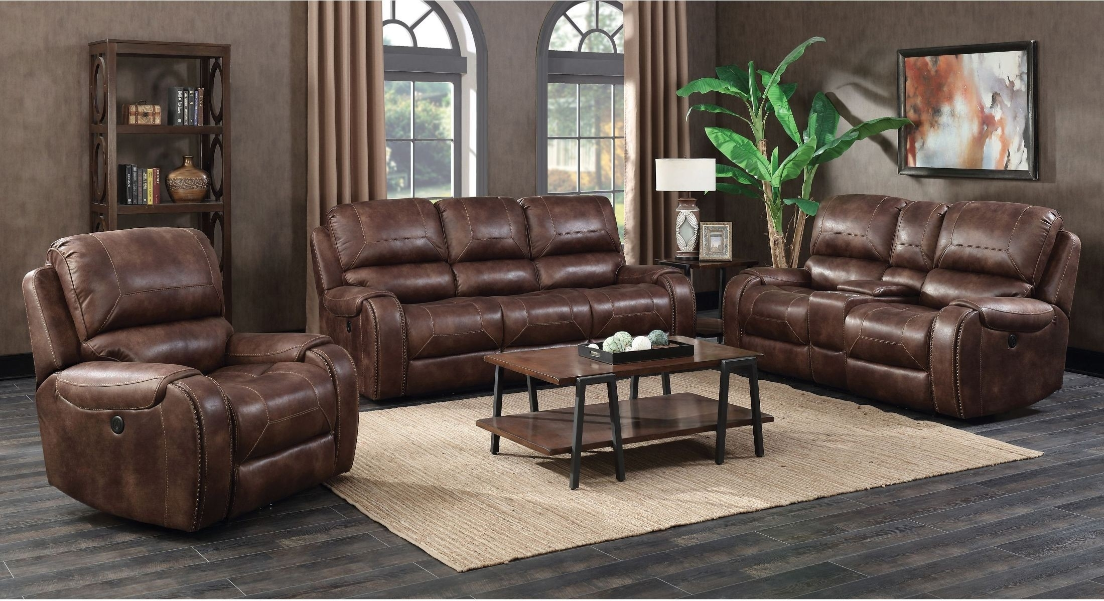 Jennings Waylon Mocha Power Reclining Living Room Set From Prime with regard to Waylon 3 Piece Power Reclining Sectionals (Image 15 of 30)
