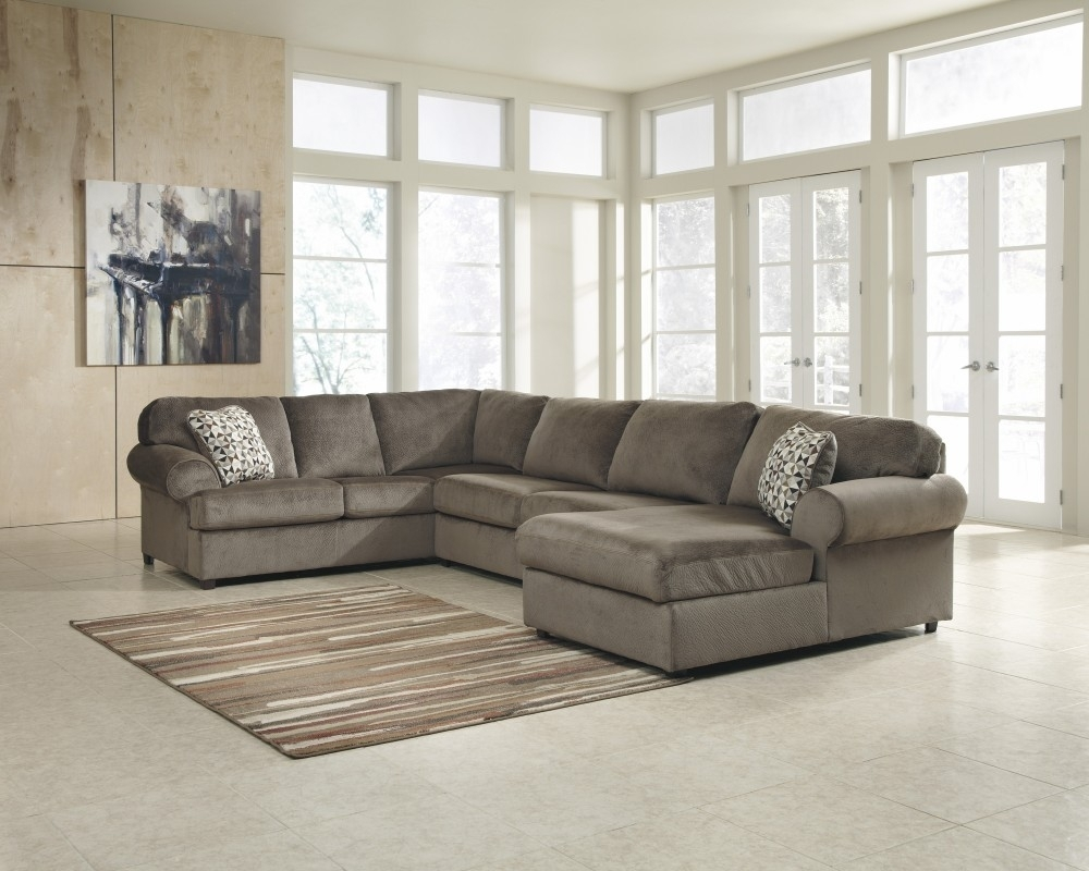 Jessa Place - Dune 3 Pc. Raf Chaise Sectional | 39802/17/34/66 intended for Lucy Grey 2 Piece Sectionals With Laf Chaise (Image 10 of 30)