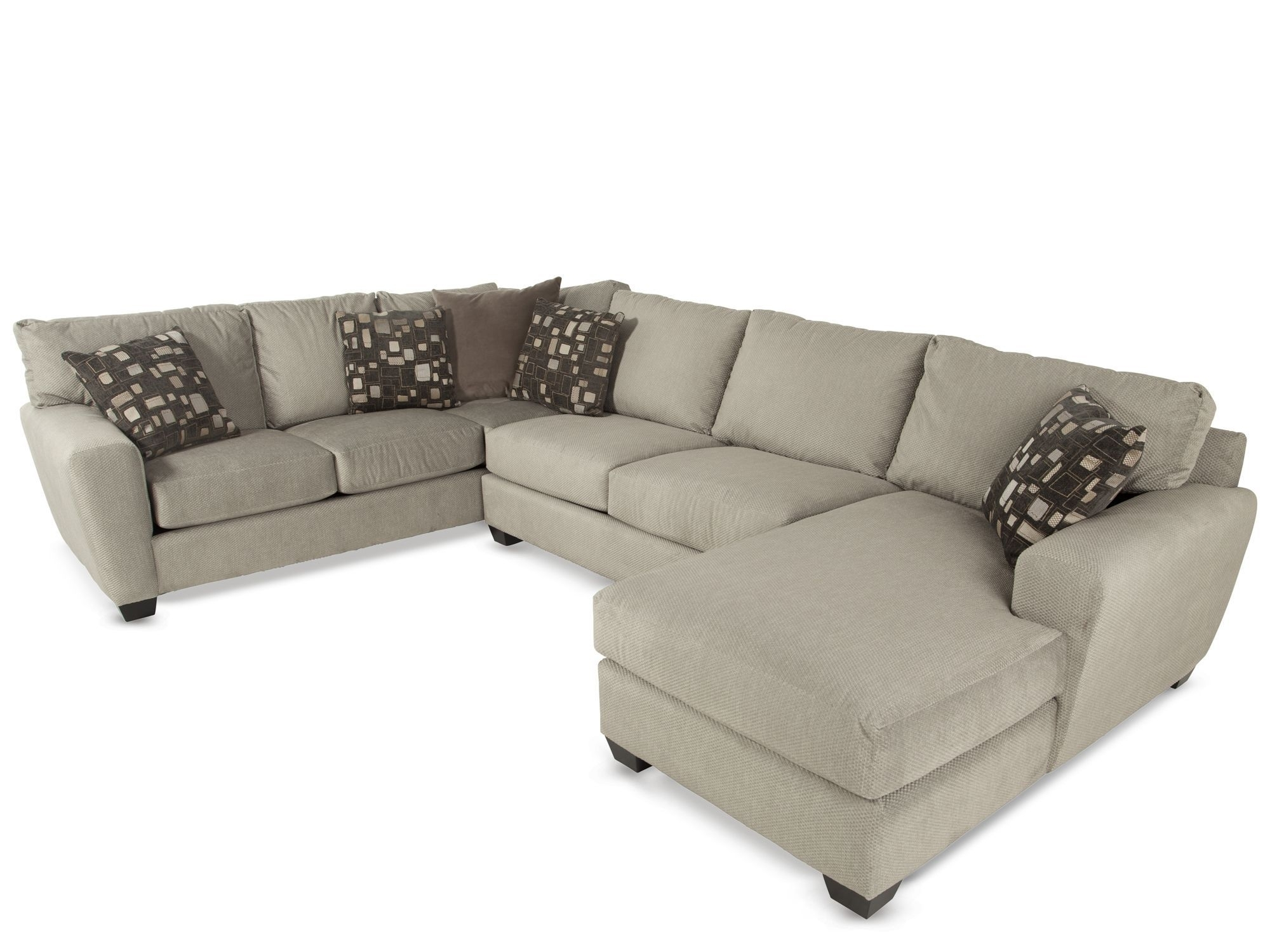 Jonathan Louis Benson Sectional | For The Home | Pinterest | Sofa inside Burton Leather 3 Piece Sectionals (Image 11 of 30)
