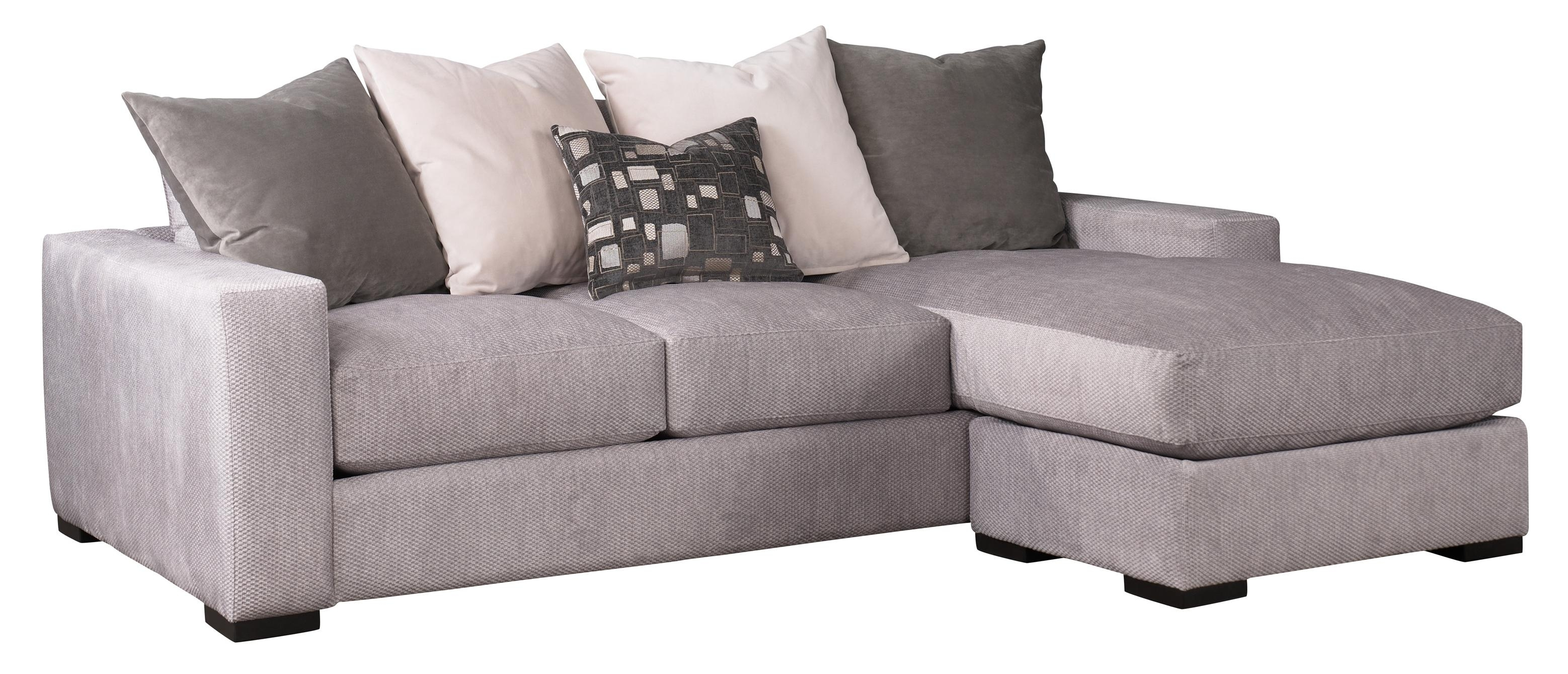 Jonathan Louis Lombardy 332-90A+90B Contemporary Sofa W/ Reversible inside Burton Leather 3 Piece Sectionals (Image 13 of 30)