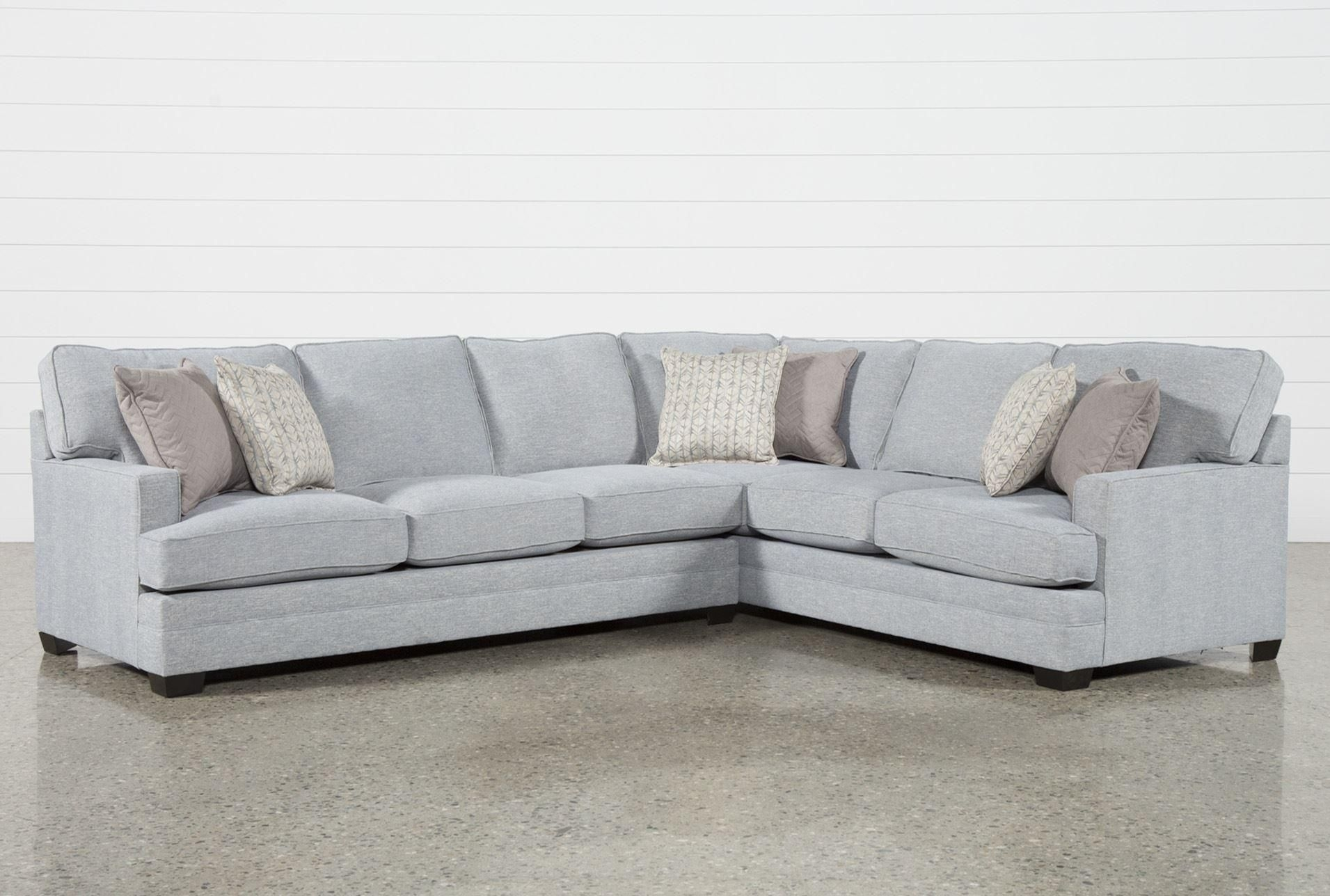 Josephine 2 Piece Sectional W/laf Sofa | For The Home | Pinterest inside Aquarius Dark Grey 2 Piece Sectionals With Raf Chaise (Image 14 of 30)