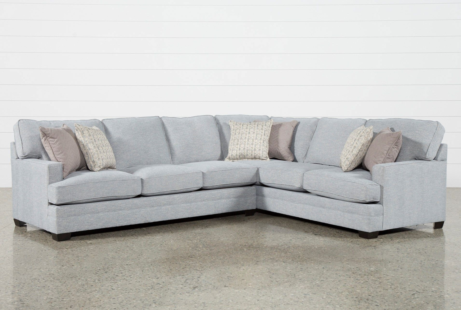 Josephine 2 Piece Sectional W/laf Sofa | Pinterest | Living Spaces inside Aurora 2 Piece Sectionals (Image 20 of 30)