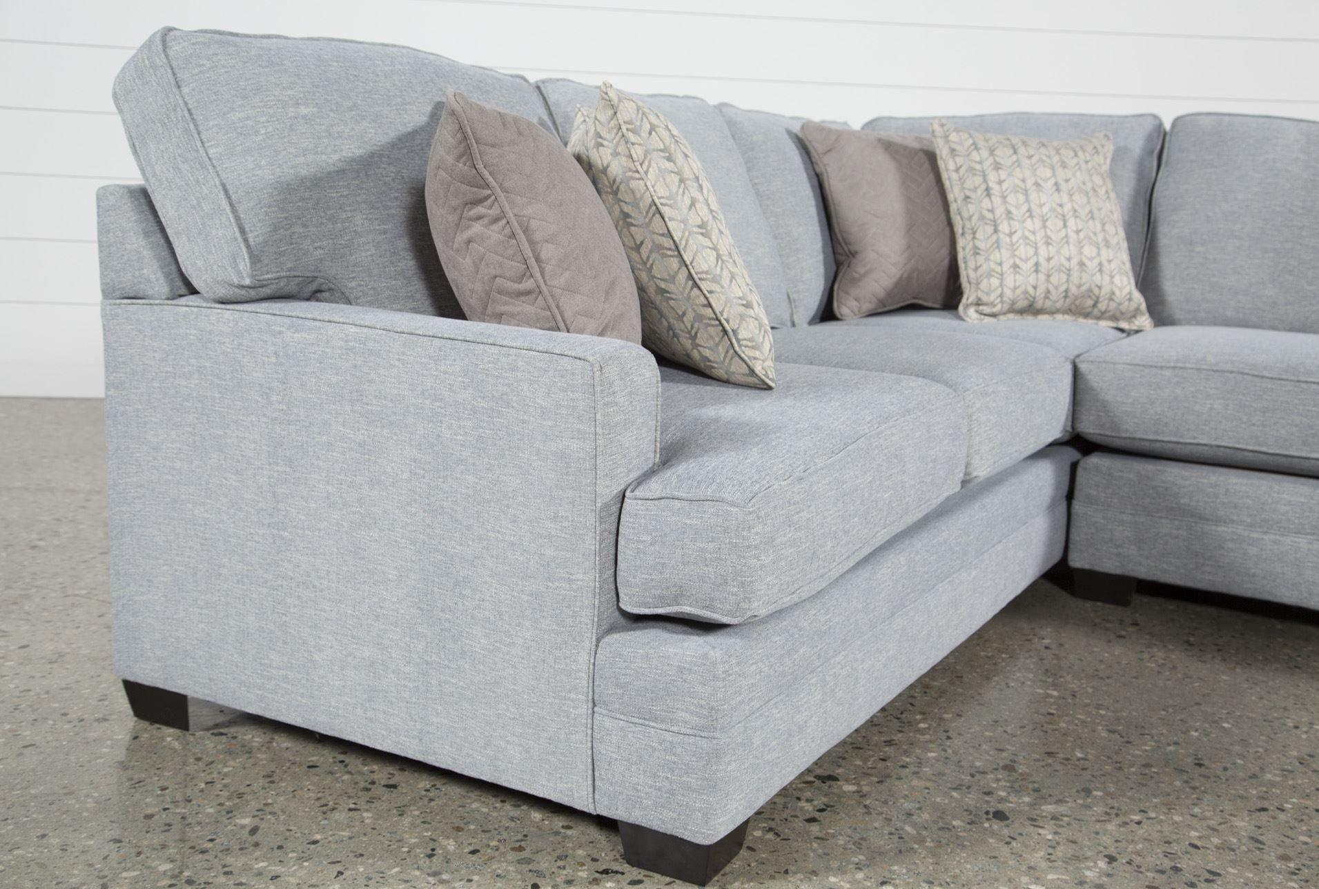 Josephine 2 Piece Sectional W/raf Sofa | Living Spaces | Pinterest in Josephine 2 Piece Sectionals With Laf Sofa (Image 15 of 30)