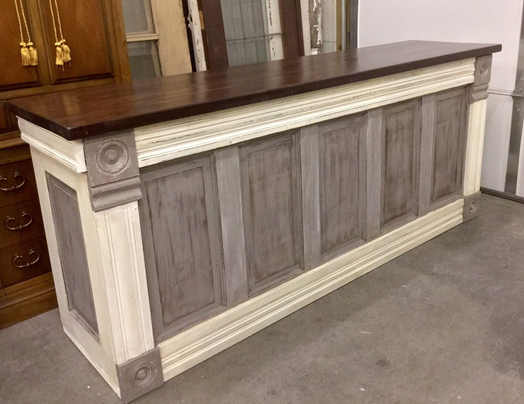 Just Finished This Urban Chic Custom Counter This Evening. I Build pertaining to Helms Sideboards (Image 20 of 30)